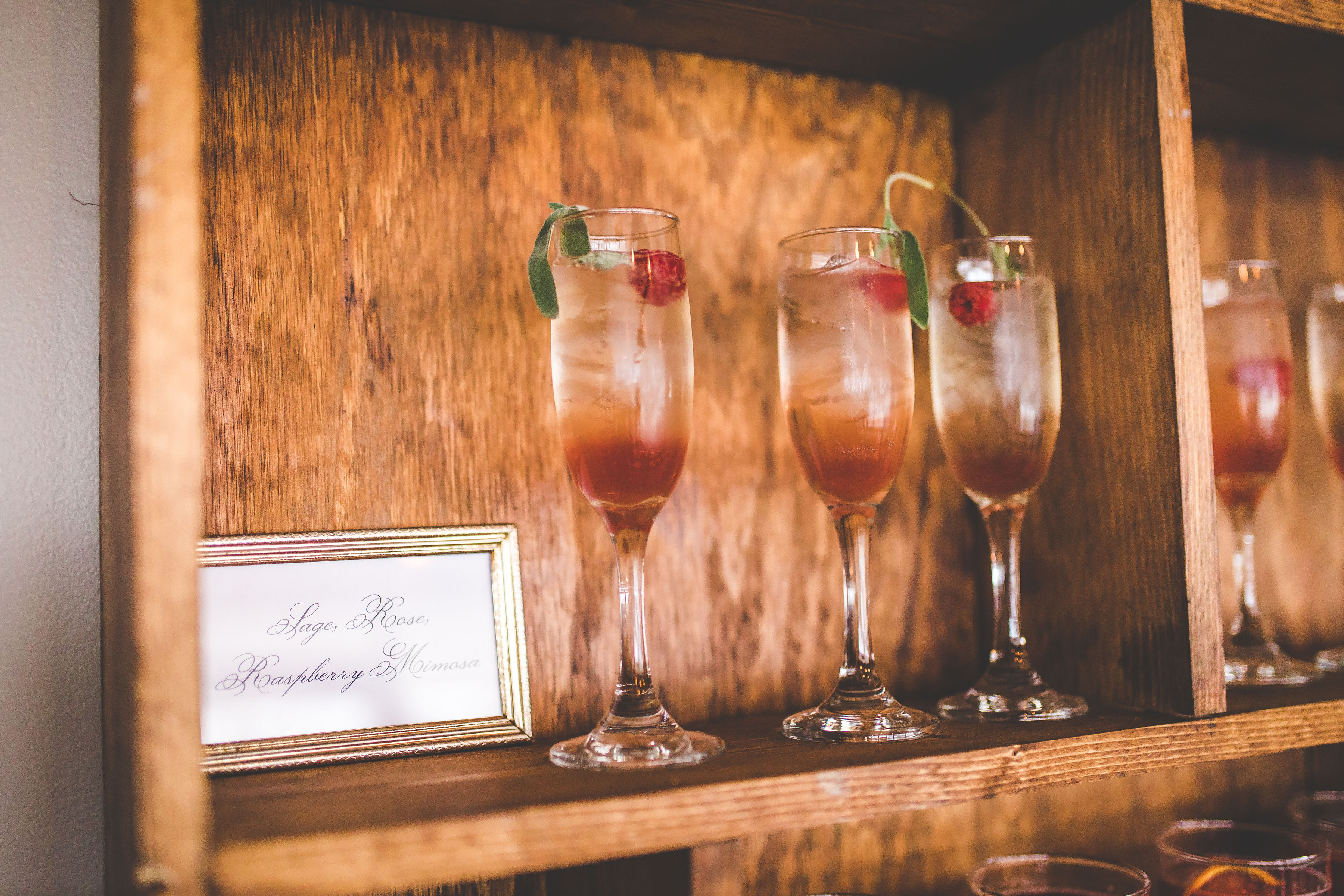 Sage, Rose, and Raspberry Mimosa Photo Credit: Creative Touch Photography